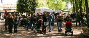 Vårmarknad i Folkets Park