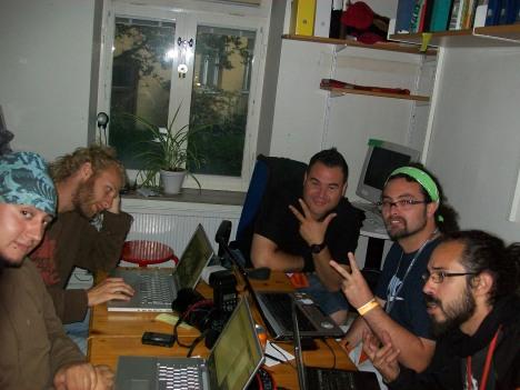 Amadeus, Jens, Alex, Camilo & Lucas