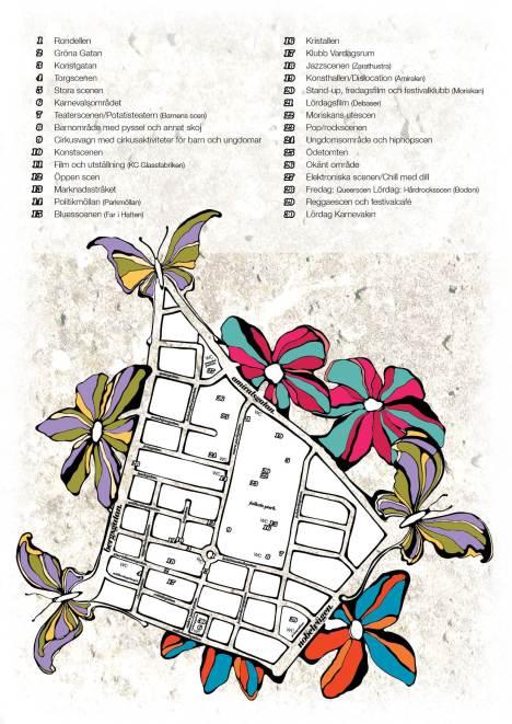 Festivalkarta